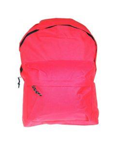 Τσάντα πλάτης κοραλί με 1 θήκη 42x32x16εκ. - 32000-02---2