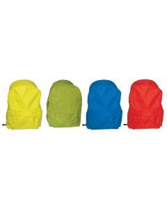 Τσάντα πλάτης εφηβική κίτρινη με 1 θήκη 40x28x14εκ. - 28629-01ΔΥ-2