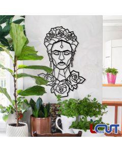 Ξύλινο κάδρο Frida Kahlo 89x60cm SKU-00024