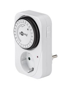 51276 Mechanical timer, controls electronic devices easily and precisely 055-0704