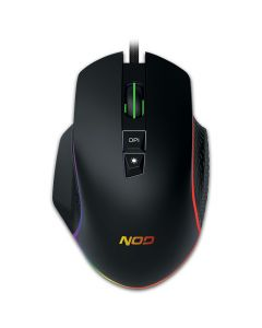 NOD RUN AMOK WIRED 7D GAMING MOUSE WITH RGB RUNNING LED LIGHT 141-0154