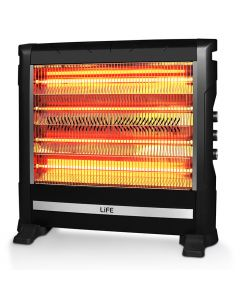 LIFE VESTA Quartz heater 2800W,with fan and humidifier 221-0255