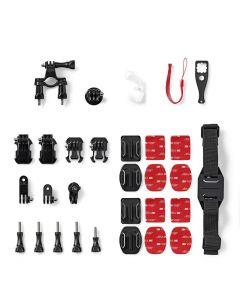 NEDIS ACMK00 Action Camera Mount Kit 12 mounts included Travel Case 233-1647