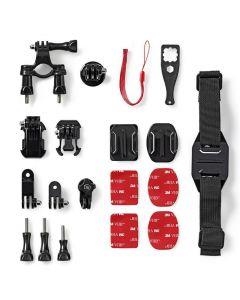 NEDIS ACMK01 Action Camera Mount Kit 7 mounts included Travel Case 233-1648