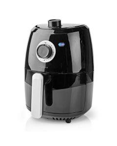 NEDIS KAAF120FBK Hot Air Fryer 2.4 Litres 30-Minute Timer Black 233-1672
