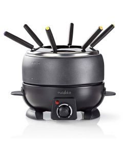 NEDIS FCFO110EBK6 Fondue Set 6-People 2.3 L 233-1674