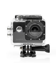 NEDIS ACAM07BK Action Cam 1080p@30fps 12MPixel Waterproof up to: 30.0m 90 min Mo 233-1979