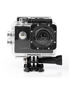 NEDIS ACAM04BK Action Cam 20p@30fps 5MPixel Waterproof up to: 30.0m 90min Mounts 233-1980