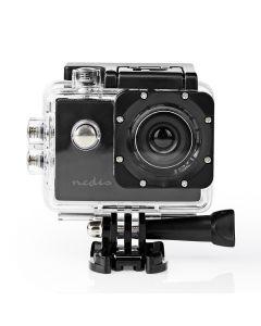 NEDIS ACAM04BK Action Cam 20p@30fps 5MPixel Waterproof up to: 30.0m 90min Mounts 233-1980