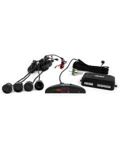 AMIO σύστημα παρκαρίσματος 01565, 4 μαύροι αισθητήρες, LED indicator 01565 id: 34107