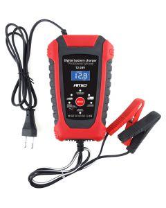 AMIO Ψηφιακός φορτιστής μπαταριών οχημάτων 02379, 12V/24V, 6A/3A 02379 id: 41251