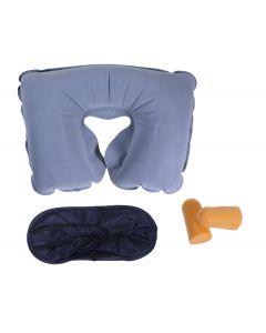 Σετ ανάπαυσης ταξιδίου 041761 με μαξιλάρι, μάσκα & ωτοασπίδες 041761 id: 30840