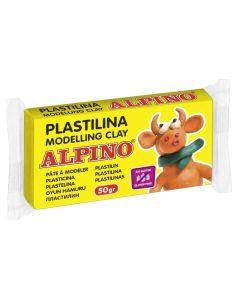 ALPINO πλαστελίνη 088DP00005701, χωρίς γλουτένη, 50γρ, κίτρινη 088DP00005701 id: 42029