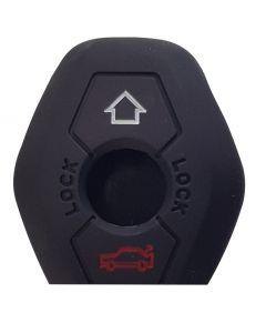 Θήκη κλειδιού για αυτοκίνητα BMW 1004-03, εύκαμπτη, μαύρη 1004-03 id: 37976