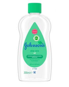 JOHNSON'S baby oil με aloe vera, υποαλλεργικό, 300ml 3574660058833 id: 31171