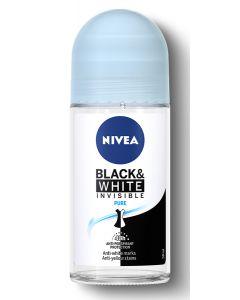 NIVEA αποσμητικό Roll-on Black & White Invisible Fresh, 50ml 4005900388599 id: 30722