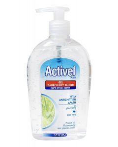 ACTIVEL gel καθαρισμού χεριών, με γλυκερίνη & aloe vera, 500ml 5202663192435 id: 30876