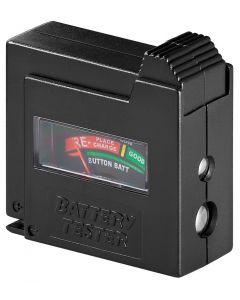 GOOBAY battery tester 54020, για AAA/AA/C/D/9V/N, μαύρο 54020 id: 42178
