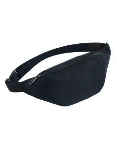 Τσάντα μέσης 62819, δυο θέσεων, 38x8x15cm, μαύρο 62819 id: 35726