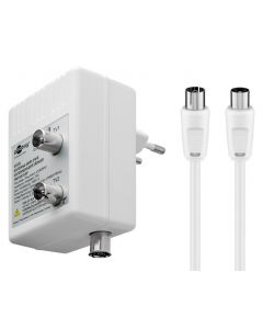 GOOBAY ενισχυτής κεραίας 67226, 2 συσκευές, DVB-T DVB-T2 DVB-C, λευκός 67226 id: 35542