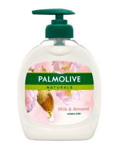 PALMOLIVE κρεμοσάπουνο Clean & care, με γάλα & αμύγδαλο, 300ml 8003520012906 id: 30628