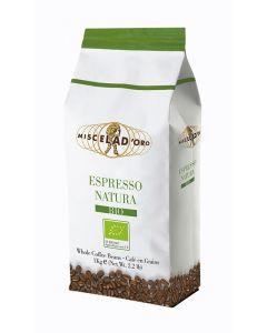 MISCELA D'ORO καφές espresso Natura, βιολογικός, 1kg σε κόκκους 8005657002409 id: 43920
