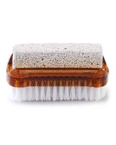 AQUA MASSAGE Βουρτσάκι καθαρισμού & απολέπισης ποδιών, καφέ 8008990009760 id: 39798