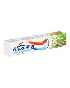 AQUAFRESH οδοντόκρεμα Herbal, με φθόριο, 75ml 8016825932541 id: 33514