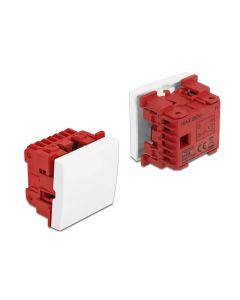 DELOCK module διακόπτης Easy 45 81359, μονός, 1-pole, 1-way, λευκός 81359 id: 43296