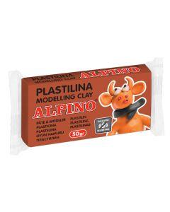 ALPINO πλαστελίνη, χωρίς γλουτένη, 50γρ, καφέ 8413240581949 id: 37870
