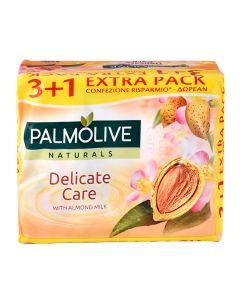 PALMOLIVE σαπούνι Delicate care, με γάλα αμυγδάλου, 4x 90g 8714789699110 id: 4244