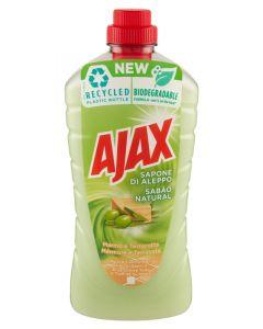 AJAX Υγρό καθαριστικό για όλες τις επιφάνειες, φυσικό σαπούνι, 1L 8718951337503 id: 39796