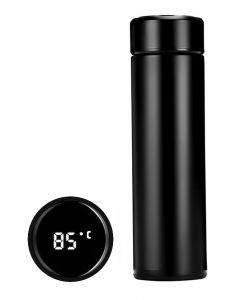 Θερμός AG285E με ένδειξη θερμοκρασίας, 500ml, μαύρος AG285E id: 31104