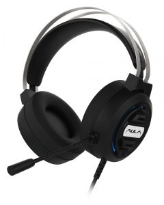 AULA gaming headset Mountain S603, RGB, USB/3.5mm, 50mm, μαύρο AUL-S603 id: 34373