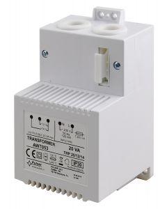 PULSAR μετασχηματιστής AWT053, TRP 20VA/12V/14V, λευκός AWT053 id: 37909