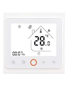 Smart θερμοστάτης πετρελαίου BHT-002-GBLW, WiFi, λευκός BHT-002-GBLW id: 35168