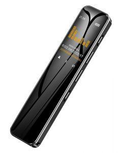 BENJIE Ψηφιακό καταγραφικό ήχου BJ-C8, 16GB, OLED οθόνη, μαύρο BJ-A42-C8 id: 42320
