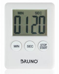 BRUNO χρονόμετρο & αντίστροφη μέτρηση BRN-0063, LCD, με μαγνήτη, λευκό BRN-0063 id: 42012