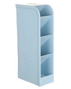 Μολυβοθήκη HUH-0004, 20.5 x 9.2 x 5.1cm, μπλε HUH-0004 id: 41691