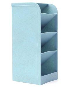 Μολυβοθήκη HUH-0007, 20.4 x 9.1 x 8cm, μπλε HUH-0007 id: 41694
