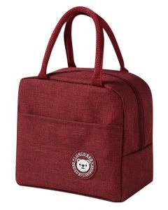 Ισοθερμική τσάντα HUH-0012, 7L, αδιάβροχη, 23x13x21cm, κόκκινη HUH-0012 id: 42681