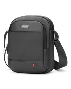 ARCTIC HUNTER τσάντα ώμου K00063-BK, με θήκη tablet, μαύρη K00063-BK id: 36474