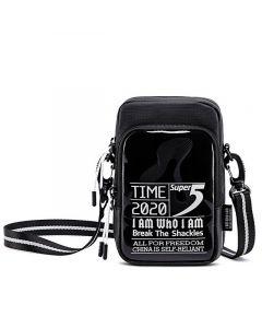 SUPER FIVE τσάντα ώμου K00110-BK, μαύρη K00110-BK id: 36487