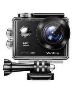 VANTOP action camera Μoment4U, 4K 30fps, 20MP, touch screen, μαύρη MOMENT4U id: 34474