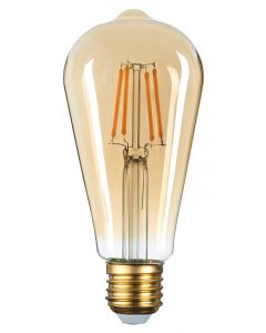 OPTONICA LED Λάμπα ST64 1305, 8W, 2500K, E27, 700LM OPT-1305 id: 41534