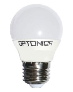 OPTONICA LED Λάμπα G45 1814, 8.5W, 4500K, E27, 806LM OPT-1814 id: 41557