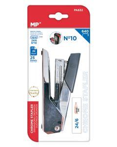 MP μεταλλικό συρραπτικό με ανταλλακτικά PA632, 24/6-26/6-Νο10, 25 φύλλα PA632 id: 37856