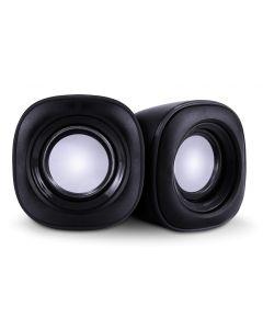 POWERTECH ηχεία Essential sound PT-844, 2x 3W, 3.5mm, μαύρα PT-844 id: 35707