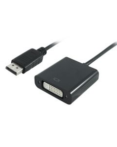 POWERTECH converter DisplayPort σε DVI (F) PTH-029, 1920x1200p, μαύρο PTH-029 id: 31621