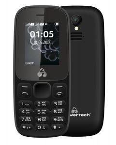 POWERTECH Κινητό Τηλέφωνο Milly Small II PTM-27, με φακό, μαύρο PTM-27 id: 41288